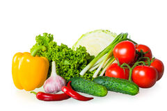 Fresh ripe vegetables Stock Photography