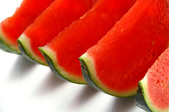 Fresh ripe watermelon slices Stock Photo