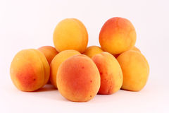 Fresh riped apricots Stock Photography