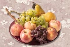 Fresh riped fruits Stock Photo