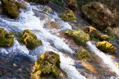 Fresh river courses. Run through the stone on Beljanica Mountain, near Despotovac town stock image