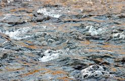 Fresh River Water. Abstract image of flowing river water stock photography