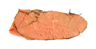 Fresh roast beef Stock Image