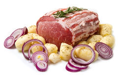 Free Fresh Roast Of Veal Royalty Free Stock Photos - 23467368