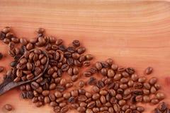 Fresh Roasted Coffee Beans Background Stock Photos