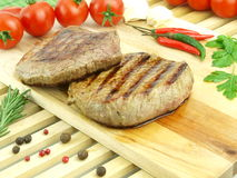 Fresh roasted meat Royalty Free Stock Images