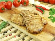 Fresh roasted meat Stock Photos