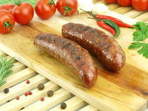 Fresh roasted meat Royalty Free Stock Photos
