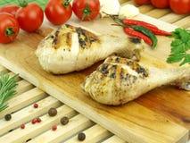 Fresh roasted meat Stock Photo