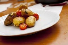 Fresh roasted potato Stock Images