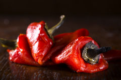 Fresh roasted red pepper Royalty Free Stock Photo
