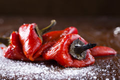 Fresh roasted red pepper Royalty Free Stock Image