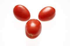 Fresh roma tomatoes Royalty Free Stock Photos