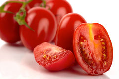 Fresh Roma tomatoes Royalty Free Stock Photo
