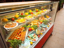 Fresh romanian traditional food Royalty Free Stock Image