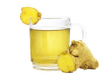 Fresh root ginger or Zingiber officinale Royalty Free Stock Photography