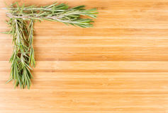 Fresh rosemary sprigs Royalty Free Stock Images