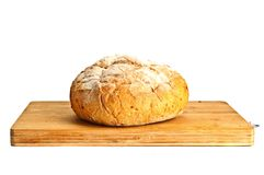 Fresh round bread Stock Photos