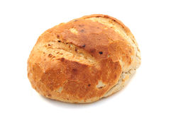 Fresh round loaf Stock Photos