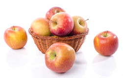 Fresh royal gala apples Royalty Free Stock Photography