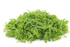 Fresh rucola leaves (Eruca sativa) Royalty Free Stock Photos