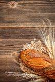 Fresh rural homemade rye loaf Royalty Free Stock Photography