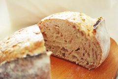 Fresh Rustic Bread Royalty Free Stock Photo