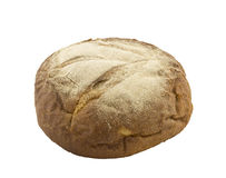 Fresh rye bread in the form of a loaf. Royalty Free Stock Image