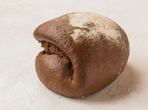 Fresh rye bread Tabatere on the French recipe Stock Photo