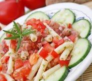 A fresh salad Stock Photography
