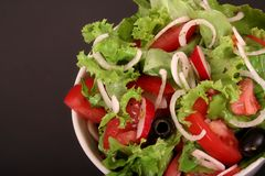 A fresh salad Stock Photo