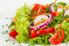 Free Fresh Salad Royalty Free Stock Photography - 30642637