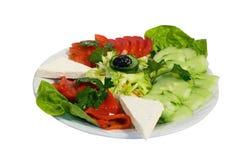 Fresh salad. Shopska national bulgarian cuisine Stock Photo