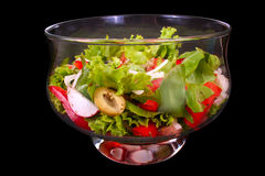 Fresh salad Royalty Free Stock Photography