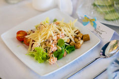 Fresh salad at the Banquet Royalty Free Stock Image