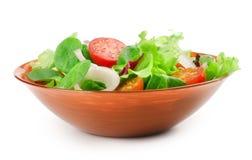 Fresh salad bowl Stock Photos