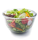 Fresh salad bowl. Closeup on a fresh salad bowl Stock Photography