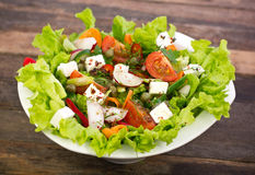 Fresh salad in the bowl Royalty Free Stock Photo