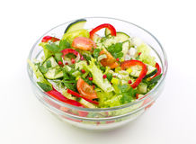 Fresh salad in the bowl Stock Image