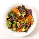 Fresh salad bowl Stock Photo