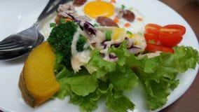 Fresh salad breakfast Stock Image