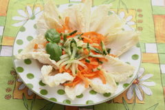 Salad of carrots Royalty Free Stock Photography
