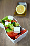 Fresh Salad With Cheese Stock Photos