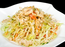 Fresh salad with chicken breast Royalty Free Stock Photography