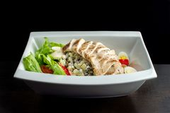 Fresh salad with chicken breast. Stock Photography