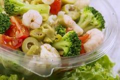 Fresh salad. Close up of healthy salad Stock Photo