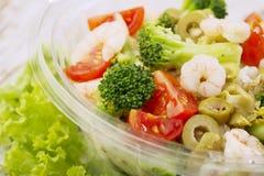 Fresh salad. Close up of healthy salad Royalty Free Stock Photos