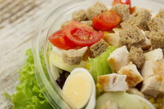 Fresh salad. Close up of healthy salad Royalty Free Stock Photography