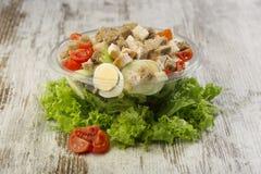 Fresh salad. Close up of healthy salad Royalty Free Stock Image