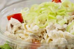 Fresh salad. Close up of healthy salad Stock Photos